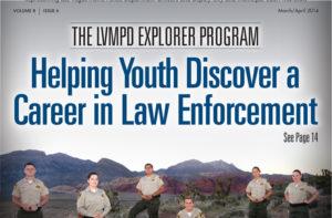 LVMPD Magazine Cover Thumbnail